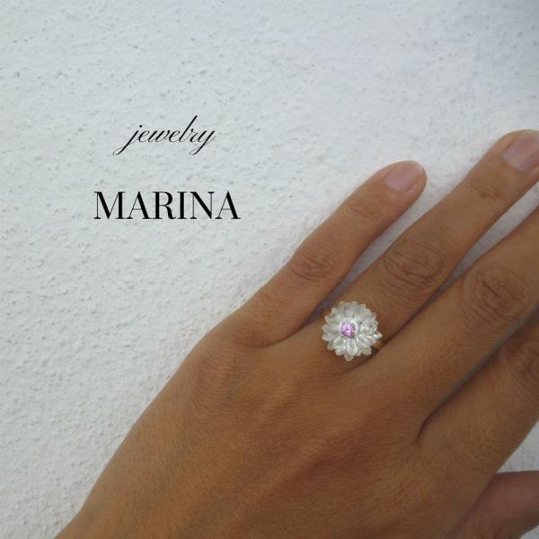 蓮の花 指輪