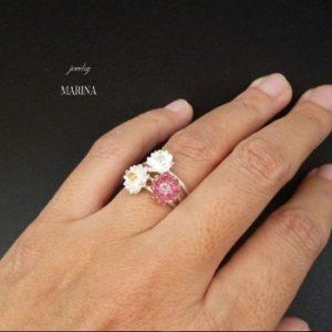 指輪 蓮の花