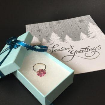 蓮の花 リング