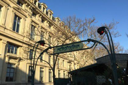 パリ メトロ フランス